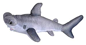 Wild Republic- Living Ocean Mini Peluche Tiburones Martillo, Juguete Relleno, 40 cm, (23415)