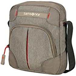 Samsonite Rewind Crossover Bolso Bandolera, 23 cm, 4,5 L,, Color Gris (Taupe)
