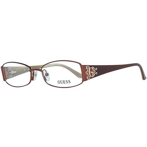 Guess Damen Brille Gu2249 D96 52 Brillengestelle, Braun,