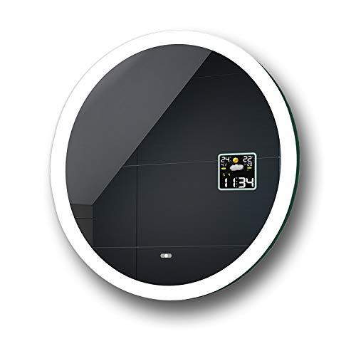 FORAM Espejo de Baño con Iluminación LED - Luz Espejo de Pared con Accesorios - Diferentes tamaños...