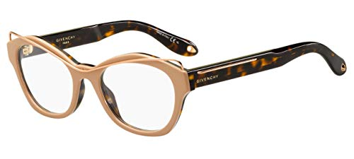 Givenchy Brillen GV 0060 NUDE HAVANA COPPER GOLD Damenbrillen