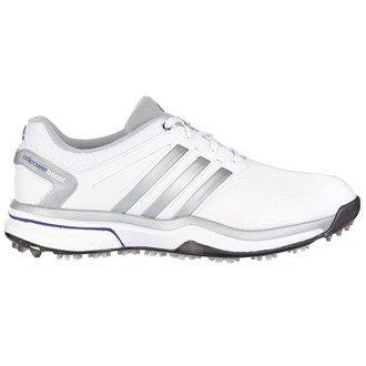Adidas Ladies Adipower Boost Golf Shoes 2015 Ladies White/Silver 4