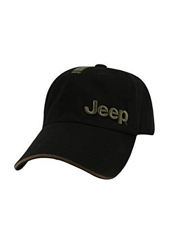 Jeep Cap Schwarz/Olivgrün