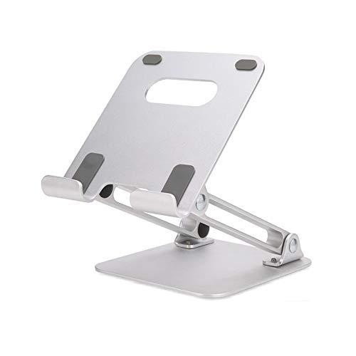 Lazy Metal Folding Bracket, tragbare Tablet-Halterung aus Aluminiumlegierung, schön und langlebig, leicht zu reinigen, Laptop-Standfuß für Mobiltelefone