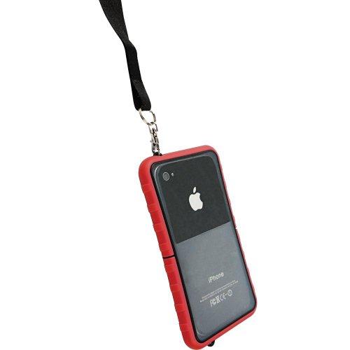 Krusell SEaLABox Étui étanche pour téléphone portable Noir Rouge