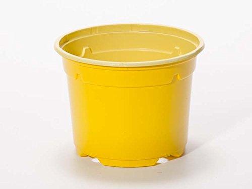 Pot horticole DUO 17 cm jaune (x10)