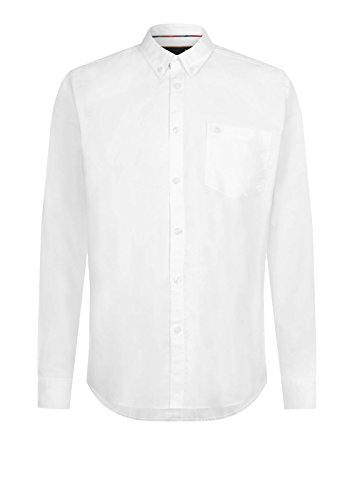 Merc of London Oval, L/S Oxford Button-Down Shirt Chemise Business Homme