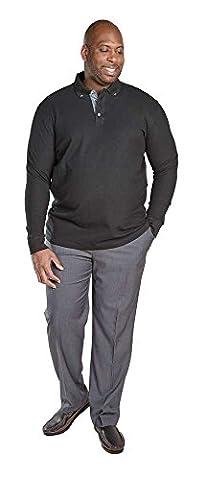 Duke London - T-Shirt à manches longues - Homme - bleu - XXXX-Large