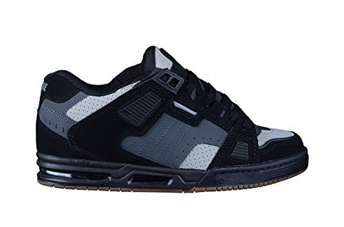Globe Sabre, Chaussures de Skateboard Hommes, Noir (Triple Grey 15245), 43 EU
