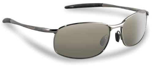 Fliegen Fisherman San Jose Polarisationsbrillen (Rotguss Rahmen, Smoke Lenses)