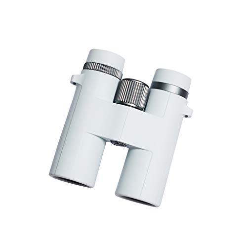 JXJJD Fernglas HD High-Light Low-Light Nachtsicht Nicht-menschliche Perspektive (Farbe : Weiß)