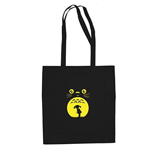 Planet Nerd Mein Nachbar - Stofftasche/Beutel, Farbe: schwarz