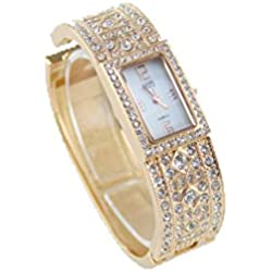 Eton Watches Womens Bangle Rose Gold Gift Boxed Citizen Quartz Movement Watch