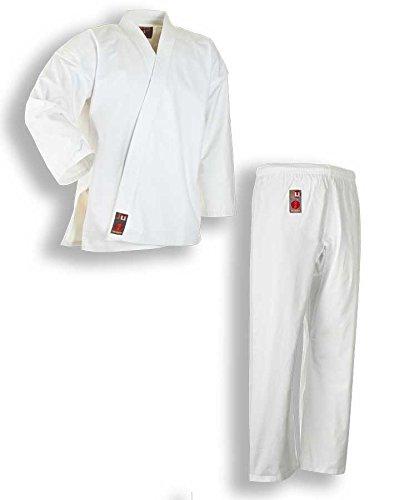 """Karate Anzug """"to start"""" mit Weißgurt von JU-SPORTS, 9301, Gr. 100 bis 180"""