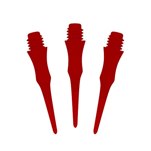 Cyeelife Sports-Professionelle Dartpfeil-Spitzen-100/250 Stück 2BA (CL18 Stil) (Rot, 250pcs)