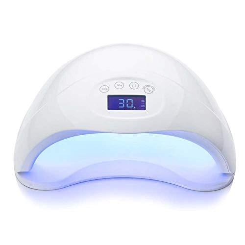 DBSCD Nagel-Lampen-Gelpoliermittel UV-48W Nagel-Trockner-schneller fehlerloser kurierender Lampen-Selbstsensor mit 4 Timer-Voreinstellungen und entfernbarem magnetischem Behälter