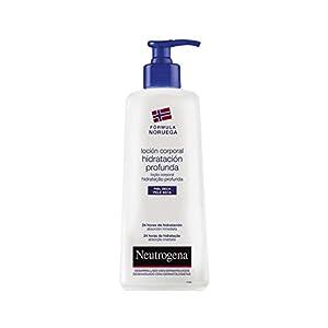 Neutrogena – Hidratación profunda, loción corporal con perfume muy ligero para pieles secas, 750 ml