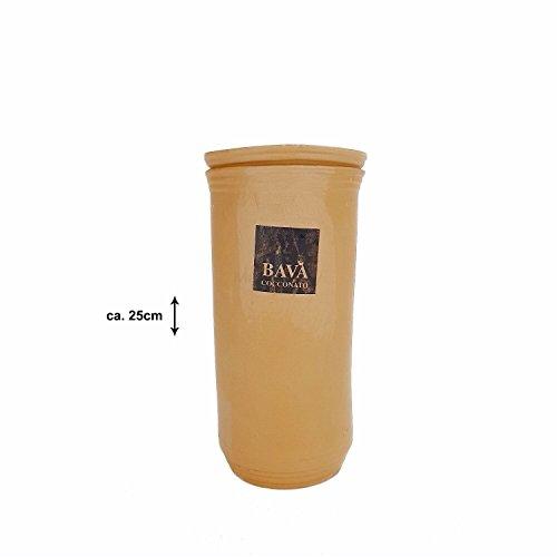 Bava Cocconato Flaschenkühler Weinkühler Terracotta Ton