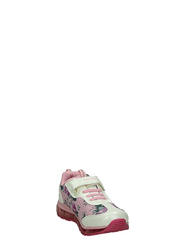 Geox J6245A Sneakers Strappo Bambina Bianco