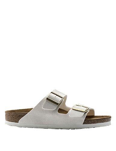 BIRKENSTOCK Women's Arizona Animal Off White Sandals