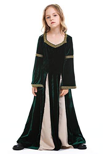 Mittelalterliche Prinzessin Kind Kostüm - Fortunezone Kinder Mädchen Mittelalter Kostüm mittelalterlichen