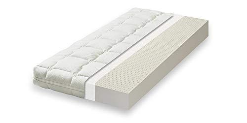 Primo Line Latex Babymatratze Lux - Babybett-Matratze 70x140 Höhe 12 cm - Kindermatratze mit waschbarem Bezug