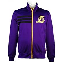 adidas NBA Los Angeles Lakers Track Top Chaqueta en Color Morado