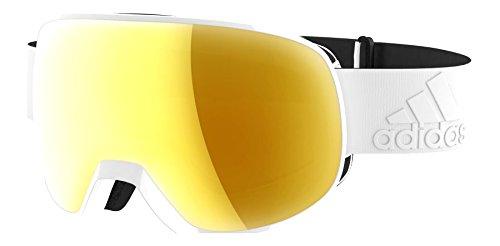 Adidas Brille Skibrille Googles ad82 PROGRESSOR S white shiny 6054