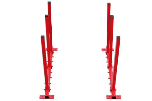 PowerTec 92321 Wandhalterung klappbar für Stoßstangen (Stoßstange Rack)