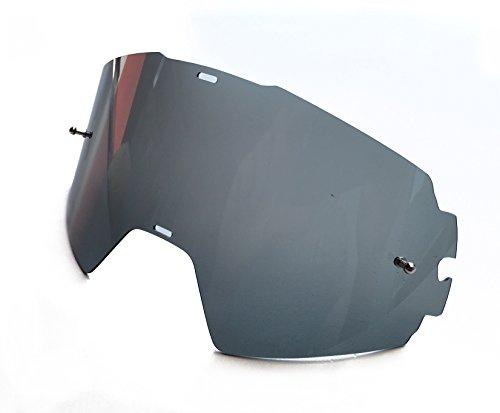 TWO-X Rocket Ersatzglas MX Brillenglas Crossbrille getönt schwarz grau