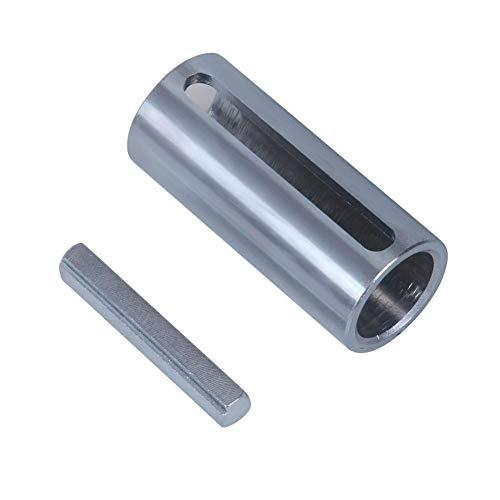 Hillrong 1 zu 1 1/8 Zoll 1/4 Schlüssel Gasmotor Riemenscheibe Kurbelwelle Hülse Adapter Raubfischer