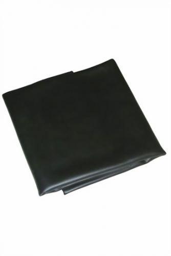 Vinyl Spannbettlaken 160 x 200 cm - Schwarz