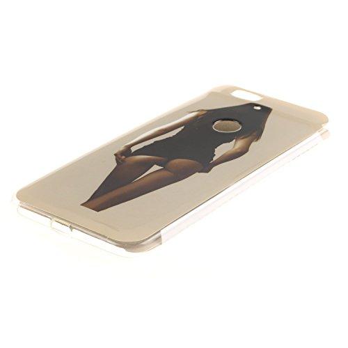 Voguecase® Per Apple iPhone 5 5G 5S, Custodia Silicone Morbido Flessibile TPU Custodia Case Cover Protettivo Skin Caso (Gatto / ECG) Con Stilo Penna Indietro 01
