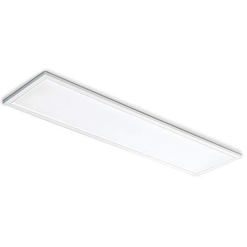 LED Einbauleuchte 120x30 48W Arbeitsleuchte 6000K rechteckig 4800lm Bianco freddo
