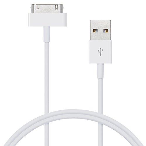 IWIO USB Ladekabel Sync Kabel für iPhone 44S 3G 3iPad 3iPad Ladegerät Ladekabel hohe Qualität USB Ladegerät Sync Kabel Für iPad 3iPad 2ipad 1Kabel 1m-weiß - Apple Von Ipad Usb-ladegerät Draht