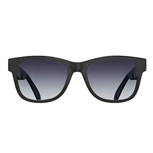 Occhiali a conduzione ossea lente polarizzata bluetooth con stereo cuffie auricolari musica mani libera occhiali da sole impermeabile con microfono a cancellazione del rumore per telefono smartphone