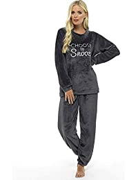 d22fa6ac89 Ladies Pyjamas Set Womens Loungewear Pyjamas for Women Comfy Warm Soft  Womans Lounge Wear Pjs Sets