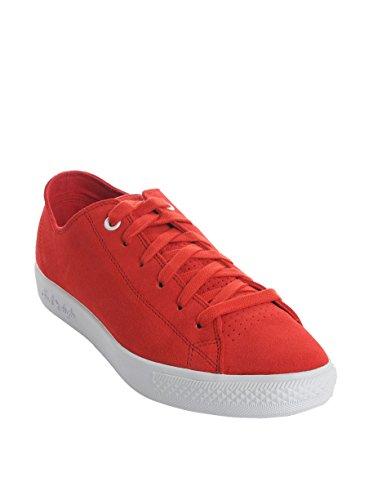 Converse  Leather, Baskets pour femme Rouge