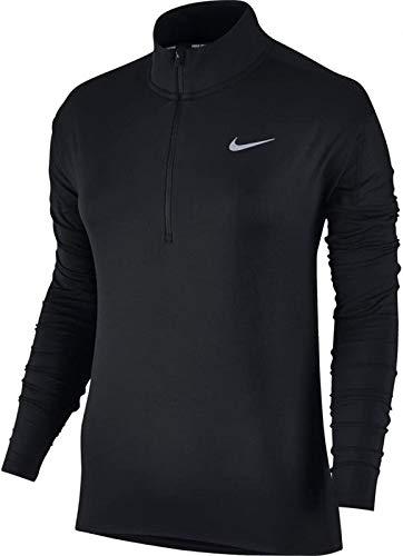 Nike Damen Element Dry Irid Jacke, Black/Silver, M (Jacke Element Nike)