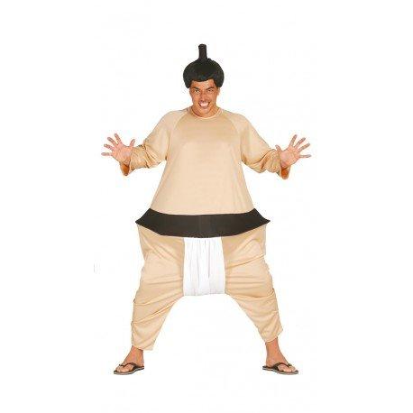 Sumo Ringer - Kostüm für Herren Gr. M/L, Größe:L