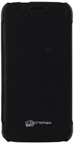 Generic Flip Cover for Micromax Canvas Turbo Mini A200 (Black)  available at amazon for Rs.180