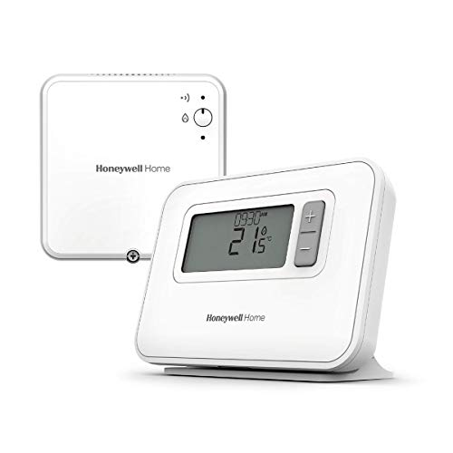 Honeywell Home Y3C710RFEU Thermostat programmable sur 7 Jours sans Fil T3R, Blanc