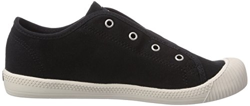 Palladium FLEX SLIP-ON Unisex-Kinder Sneakers Schwarz (BLACK/MRSHMLLW 030)