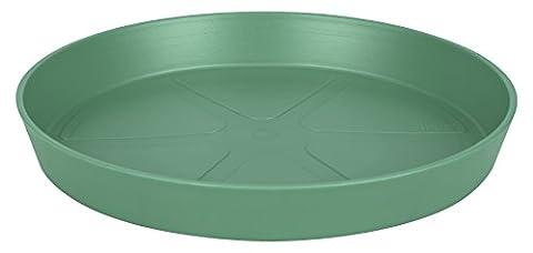 elho Loft Urban Round Saucer 21cm - Jade Green