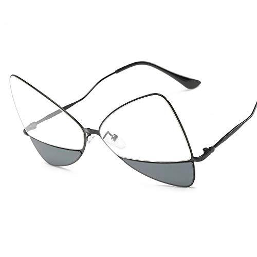 SENCILLO Sonnenbrille Beliebte Klassische unregelmäßige Octagon Metal Frame Sonnenbrille (4)