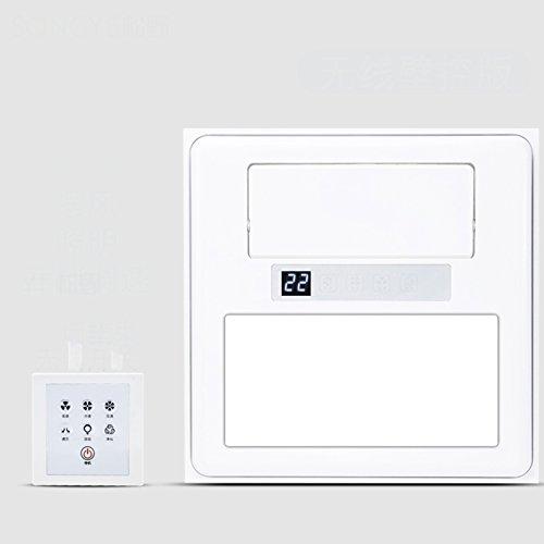 GX&XD Embedded Aire acondicionado portátil Para Cocina Baño,Techo integrado Ventilador eléctrico Con...