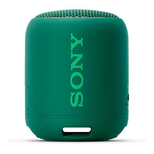 Sony SRS-XB12 Extra Bass Portable Waterproof Wireless Speaker (Green)