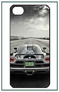 Koenigsegg Koenigsegg iPhone 5 Case noir Designer dur Protecteur Housse Coque Case Cover Shell