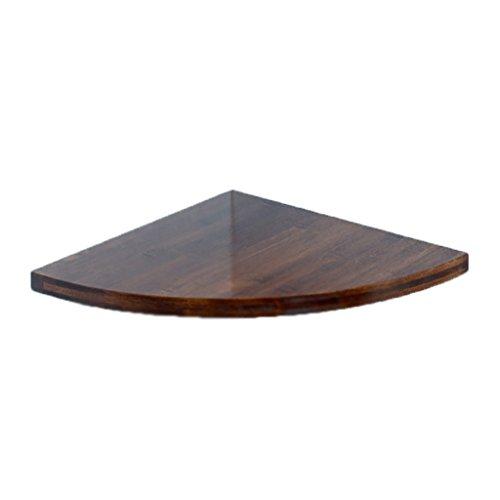 Mensole galleggianti mensole angolari soggiorno angolari in legno massello a forma di ventaglio semplici e moderni ( color : vintage , size : 20cm/7.9inch )