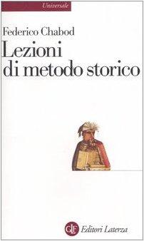 Lezioni di metodo storico